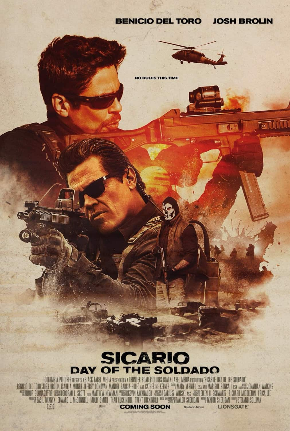 Film review: Sicario: The Day Of The Soldado (2018) – Vance Wong